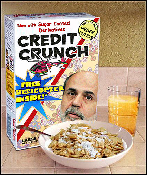 """Credit Crunch"" cereal"