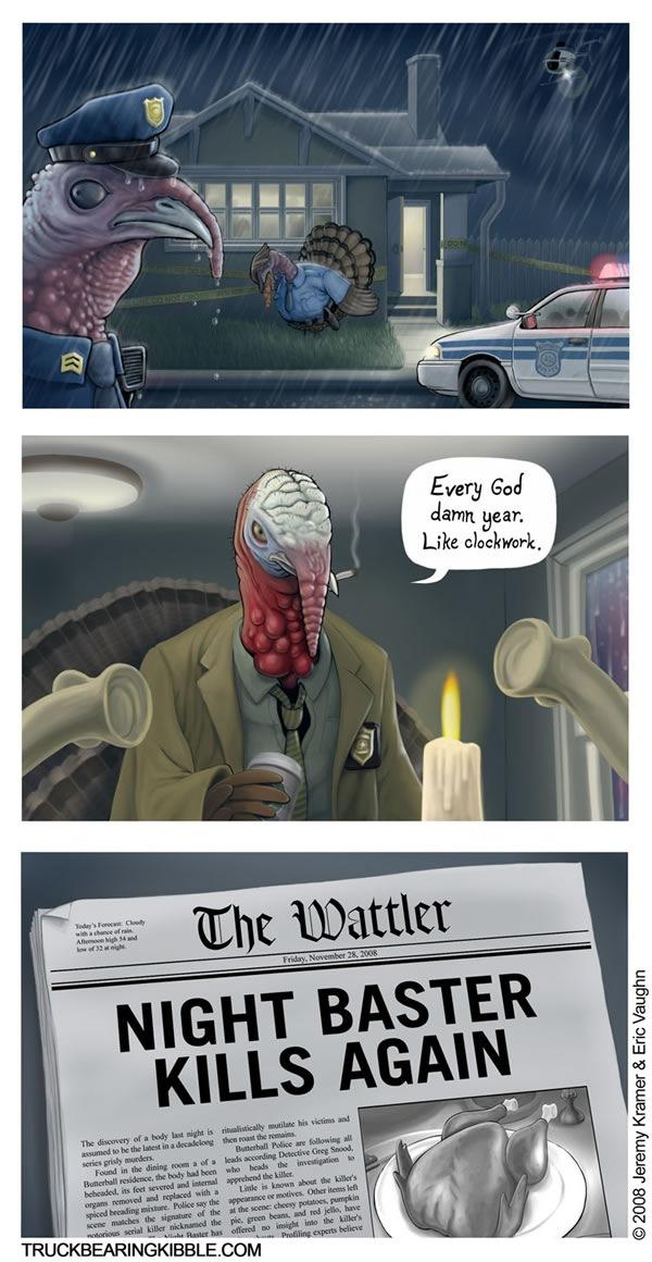 Comic: The Night Baster