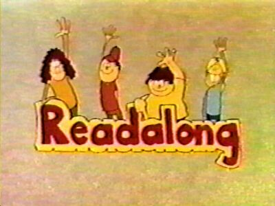 Title card for 'Readalong'.