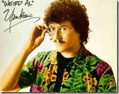 """""""Weird Al"""" Yankovic in an aloha shirt"""