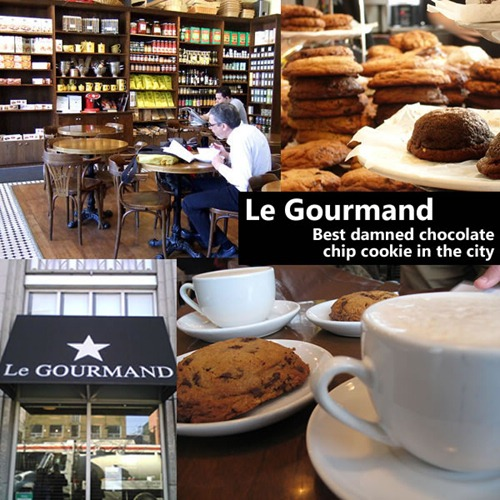 Le Gourmand: Best damned chocolate chip cookie in the city