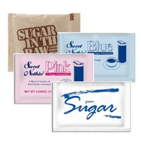 Assorted sugar packets