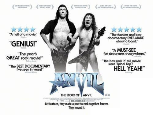 "Poster for ""Anvil! The Stroy of Anvil"""