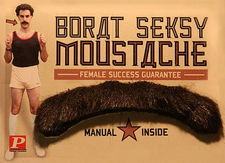 """Borat Seksy Moustache"" (English packaging)"