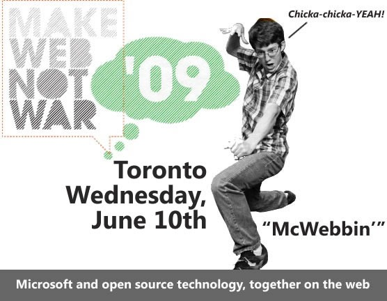 Make Web Not War: Toronto - Wednesday, June 10th