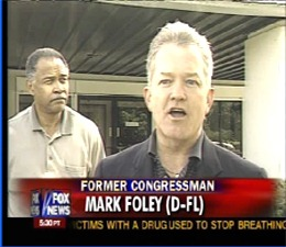FOX News showing Mark Foley as a Democrat