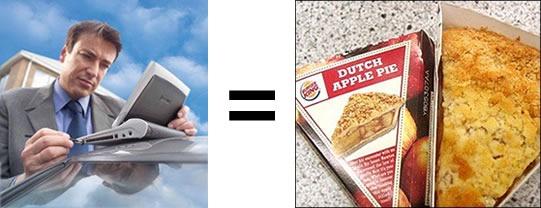 Netbooks are just like Burger King apple pies