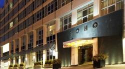 Soho Metropolitan Hotel Entrance