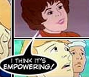 "Woman from ""SuperFriends"": ""I think it's empowering!"""