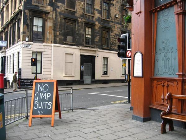 No Gimp Suits
