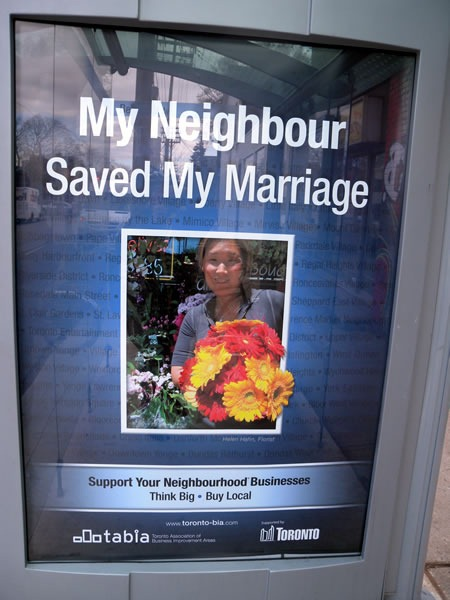 "Another poster: ""My Neighbour Saved My Marriage"""