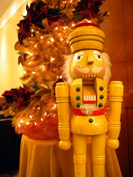 nutcracker and tree