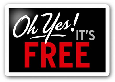 oh yes its free