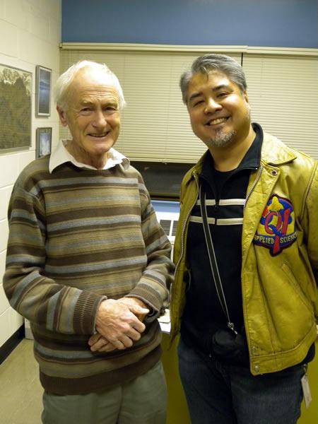 Dr. Michael Levison and Joey deVilla