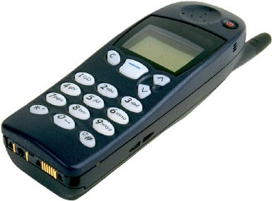 Nokia mobile phone, circa 1998