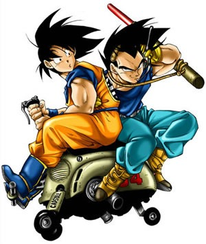 goku and vegeta