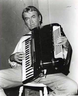 jimmy stewart on accordion