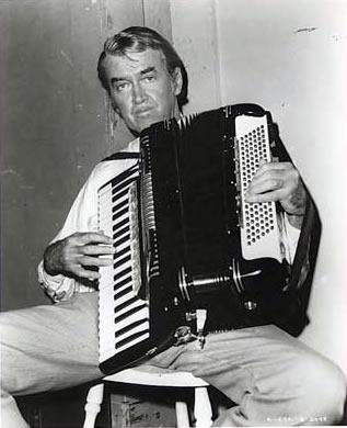 jimmy stewart on accordion