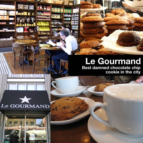 Photo montage of Le Gourmand