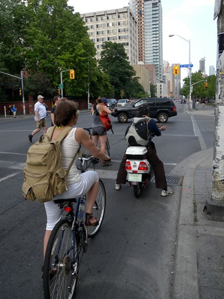 electric bike on bloor