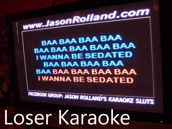 loser karaoke