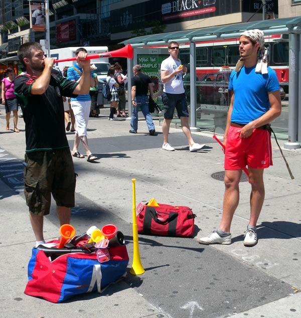vuvuzela vendors 2