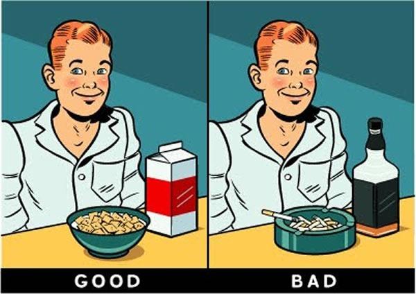 breakfast good bad