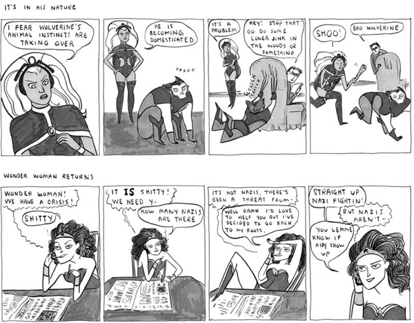 kate beaton superheroes