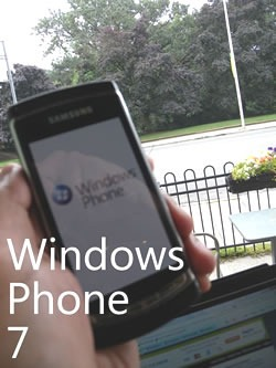 "Samsung ""Taylor"" Windows Phone 7 Prototype"