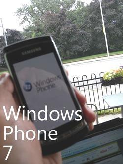 "Samsung ""Taylor"" Windows Phone 7 Prototype"
