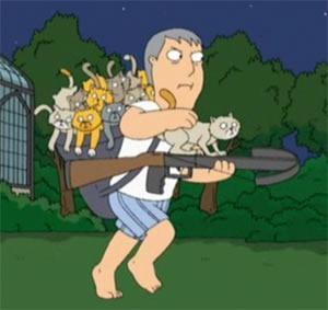 adam west cat launcher