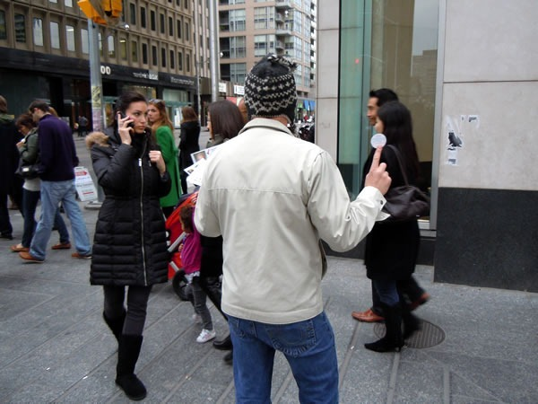 Rob Ford campaigner being ignored