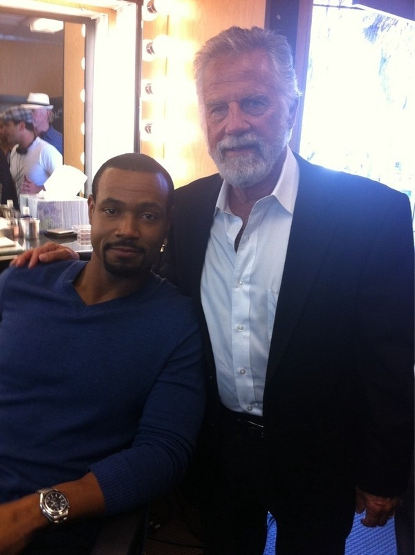 "The ""Old Spice Guy"" and Dos Equis' ""Most Interesting Man in the World"", together at last"