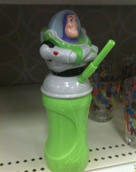 buzz lightyear wrong sippy cup