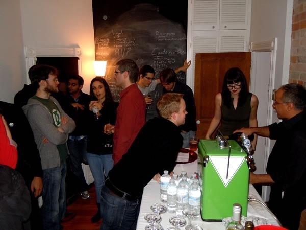 The bar at Technologic