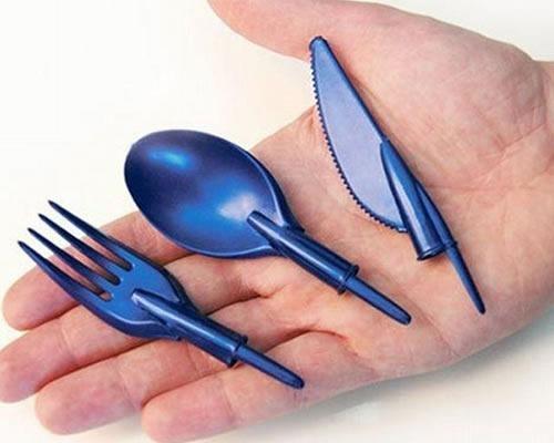 eating utensil pen caps