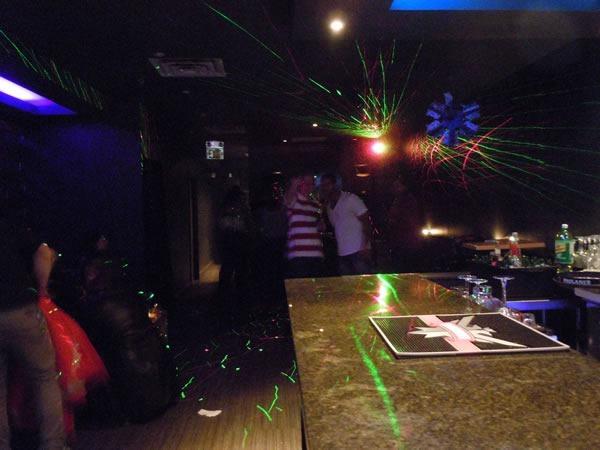 The dance floor at Epique