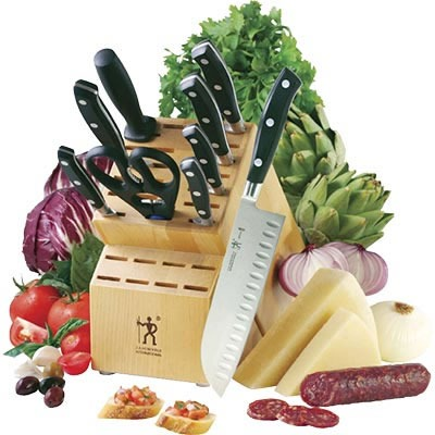 Henckel 10-piece knife set