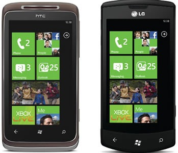 telus wp7 phones