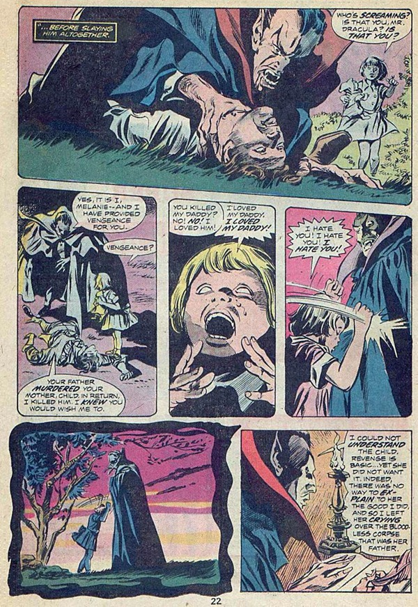 """Tomb of Dracula"" comic"