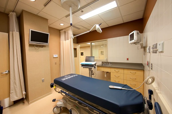 A typical emergency room