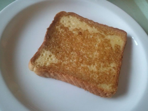 Hospital-style French toast