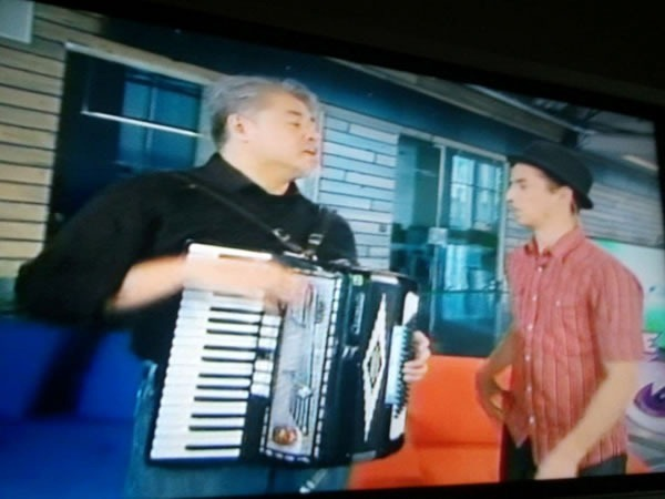 "Joey and Carlos on YTV's ""The Zone"""