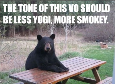 less yogi more smokey