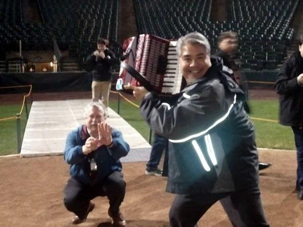 joey at bat