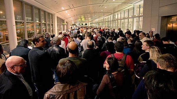 pearson airport line