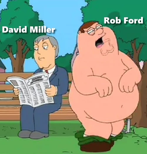 david miller and rob ford