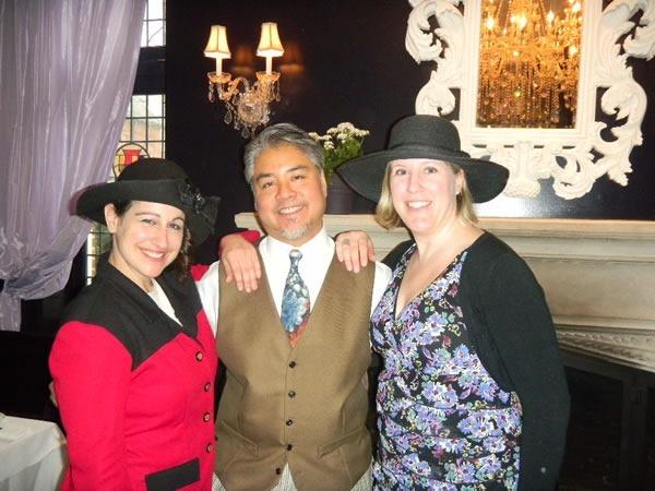 Krista, Joey deVilla and Ruth Morton