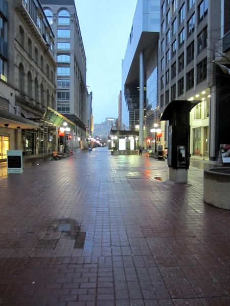 Sparks Street, as seen looking eastward