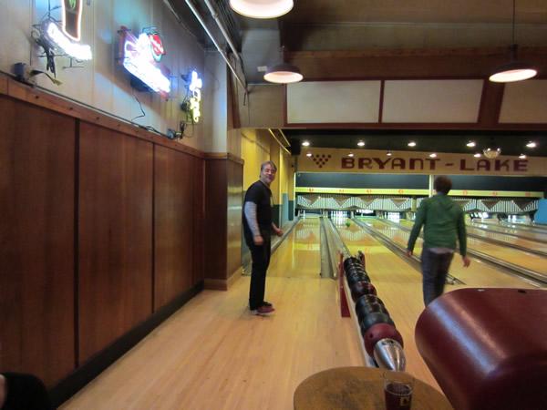 Joey deVilla bowling